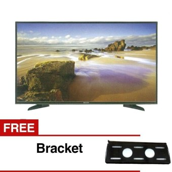 Panasonic 43 inch LED Full HD TV - Hitam (Model TH-43E305) FREE