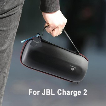 Pawaca Travel Case Bag Box Holder Pouch For JBL Charge 2 Bluetooth Speaker(Black)
