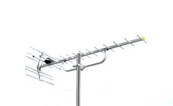 PF HDU-19 Antena Digital + Booster Antena TV Shibei/Rayden