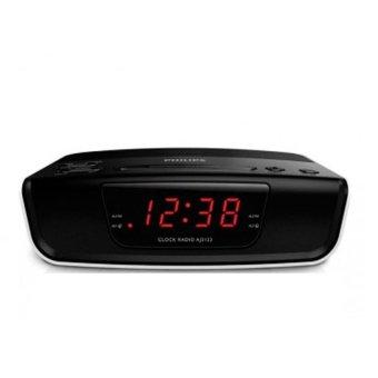 Philips AJ3123 Alarm Digital Clock Radio - Hitam