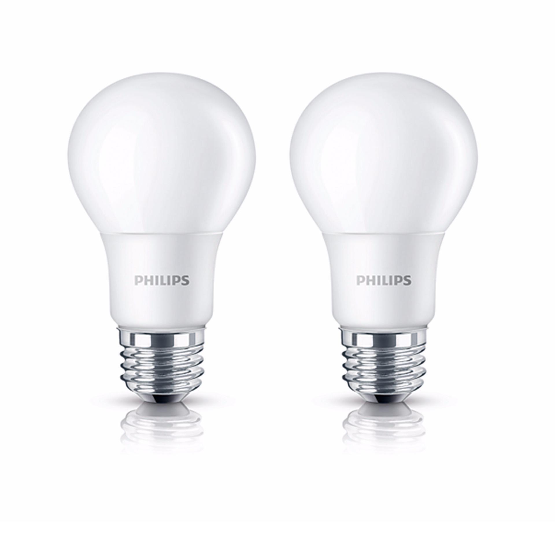 Philips Lampu LED Bulb 13 Watt E27 3000K 230V Kuning - 2 buah