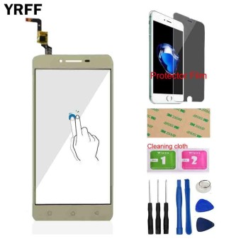 Telepon untuk Lenovo VIBE K5 Plus A6020 A6020a40 A6020a46 Depan Touch Screen Touch Kaca Digitizer Panel Sensor Alat Gratis Protector Film-Intl