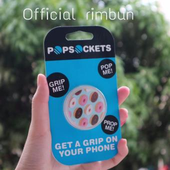 Popsockets Fashion Phone Holder Expanding Stand Grip Pop Mount For iPhone Tablet - Donat