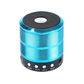 Portable Colorful Mini Bluetooth Wireless Suara Kotak Subwoofer Super Bass Stereo Speaker Musik Player Hands Free