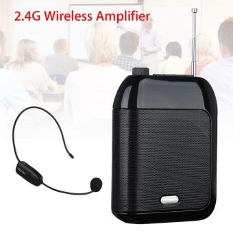 Portable Amplifier Suara Perekam/Radio Loudspeaker + 2.4G Nirkabel Mic untuk Guru-Intl