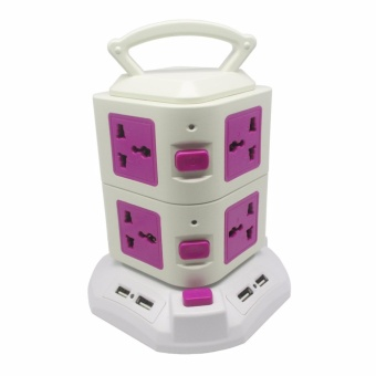 Power Tower - Vertical Socket 2 Layer & USB