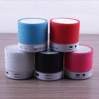 Mini LED Bluetooth Speaker Cracked Colour Edition