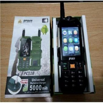 PRINCE PC118 ANDROID 3G Bisa POWERBANK OUTDOOR