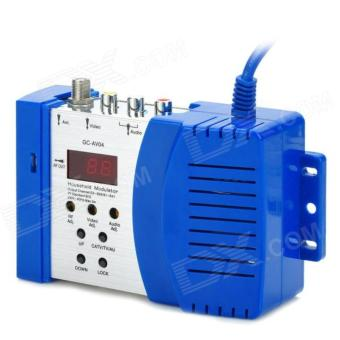Pro-X AV to RF Converter Modulator Multi Channel Pengubah Sinyal Signal VHF UHF RCA