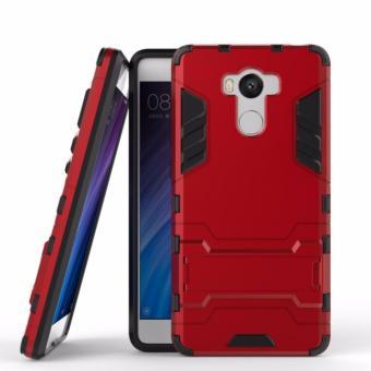 ProCase Shield Rugged Kickstand Armor Iron Man PC+TPU Back Covers for Xiaomi Redmi 4