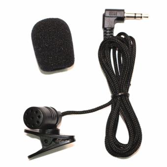 Profesional mobil Audio mikrofon 3,5 mm Jack Plug Mic Stereo Mini Wired eksternal mikrofon Player untuk Auto DVD Radio 3m panjang