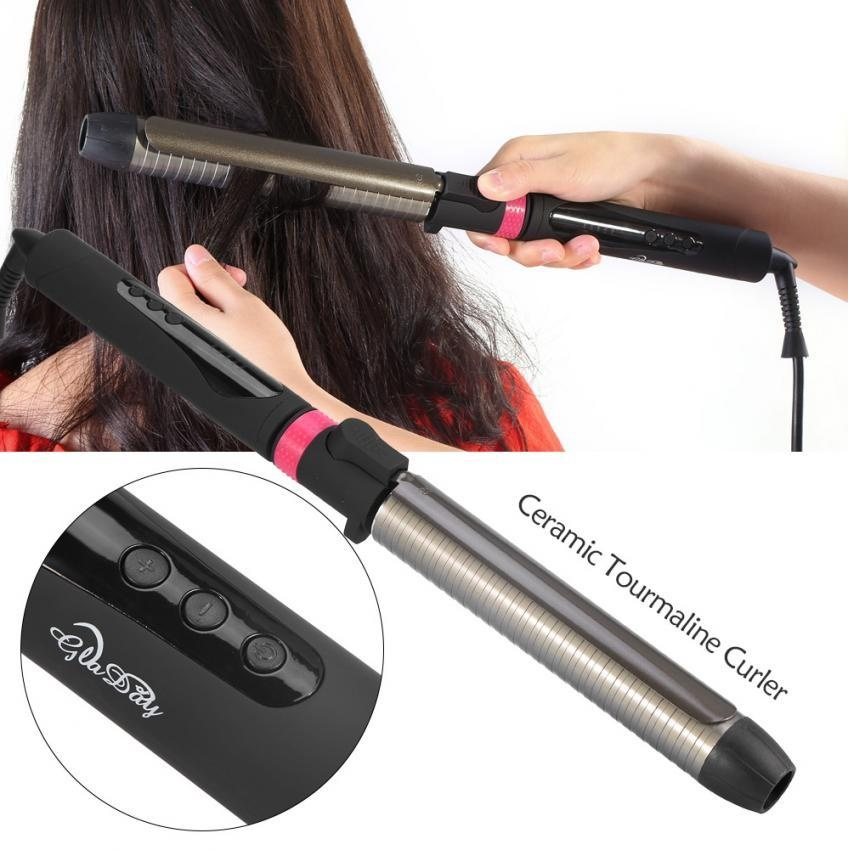 Professional Deep Curly Ceramic Curling Iron Heating Hair Wave Curler 32mm  - intl c6b7a8c366