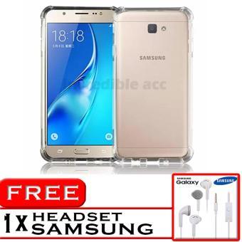 PROMO Case Anti Shock / Anti Crack Elegant Softcase for Samsung Galaxy J7 Prime - White
