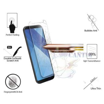 QCF Tempered Glass Samsung Galaxy A8 Plus 2018 / Anti Gores Kaca Samsung A8+ / Temper