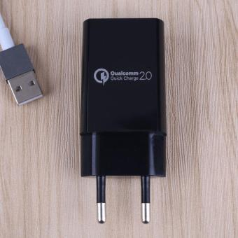 Qualcomm Certified QC 2.0 USB Wall Rapid Charger Adapter Charge EU Plug - intl