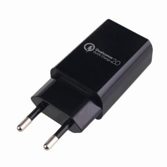 Qualcomm QC 2.0 USB Wall Rapid Charger Adapter Quick Charge Travel EU Plug - intl