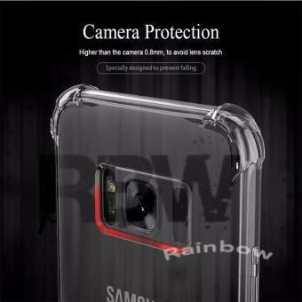 Rainbow Case Anti Crack Samsung Galaxy S8+ Soft Case Anti Shock Samsung S8 Plus / Softshell