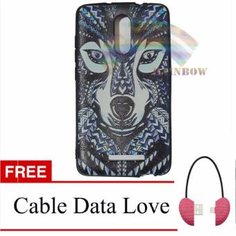 Rainbow Soft Case Luxo Jungle Wild For Xiaomi Redmi Note 3 Softcase Macho Hewan Hutan /