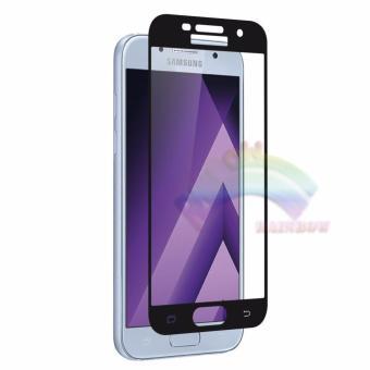 ... Screen Source · Rainbow Tempered Glass Samsung Galaxy A5 2017 A520 Temper Full Black Coverage Anti Gores Kaca