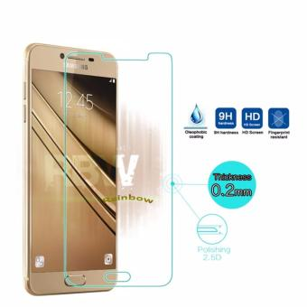 Rainbow Tempered Glass Samsung Galaxy C7 / Temper Glass Samsung C7 / Anti Gores Kaca Screen