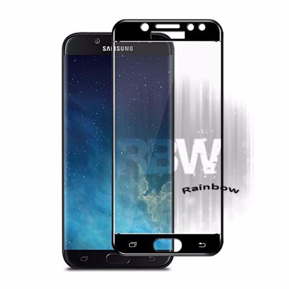 Pencari Harga Rainbow Tempered Glass Samsung Galaxy J7 Pro / Temper Glass Full Screen Samsung J7