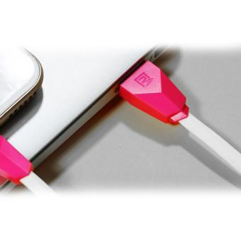 Remax Alien Cable Micro USB Kabel Data Pink