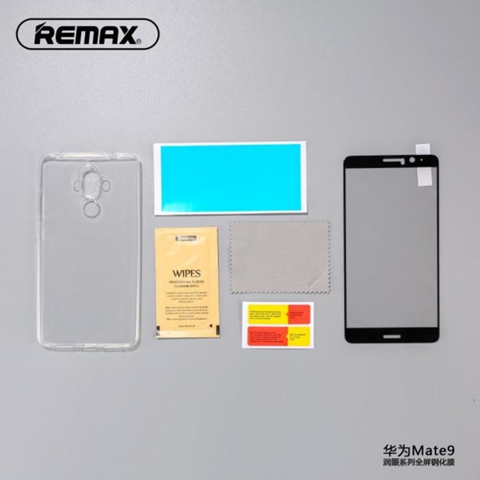 REMAX Crystal 3D Tempered Glass + TPU Case Huawei Mate 9 A025 Black
