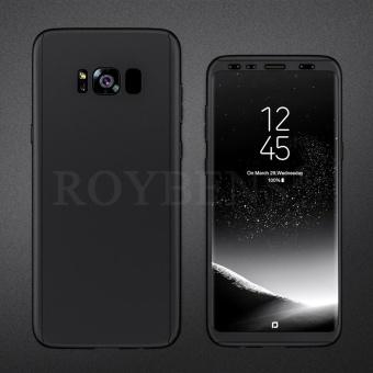 Roybens 360 Derajat Full Body Melindungi Hard Slim Case Penutup dengan Screen Protector untuk Samsung Galaxy