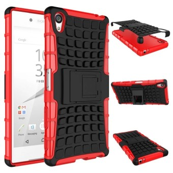 RUGGED ARMOR Sony Xperia Z3 Plus Z3+ Z4 Case Shockproof Casing Cover Softcase Dual Layer Hardcase