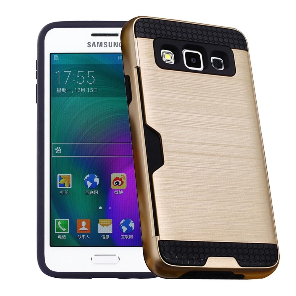 Shock Price RUILEAN Case untuk Samsung Galaxy A3 (2015) Lapis Ganda TPU + PC