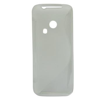 S Line Fleksibel Pelindung TPU Case Cover For Nokia 220 Transparan