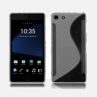 S-Line Silicone Skin Case Cover For Sony XPERIA Z3 Mimi Compact RD - intl