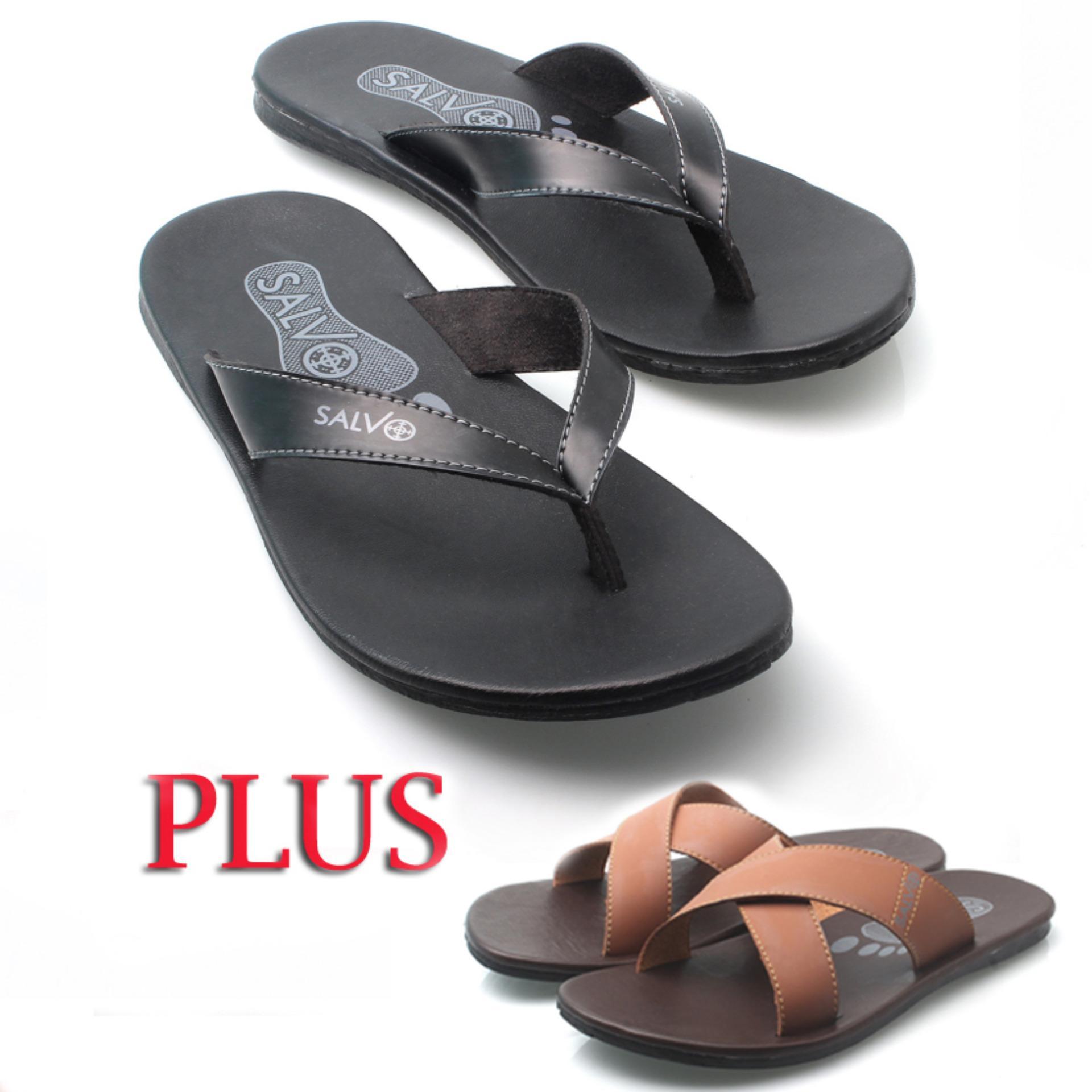 Fitur Ksm Sandal Kulit Pria Sandal Fashion Pria Sandal