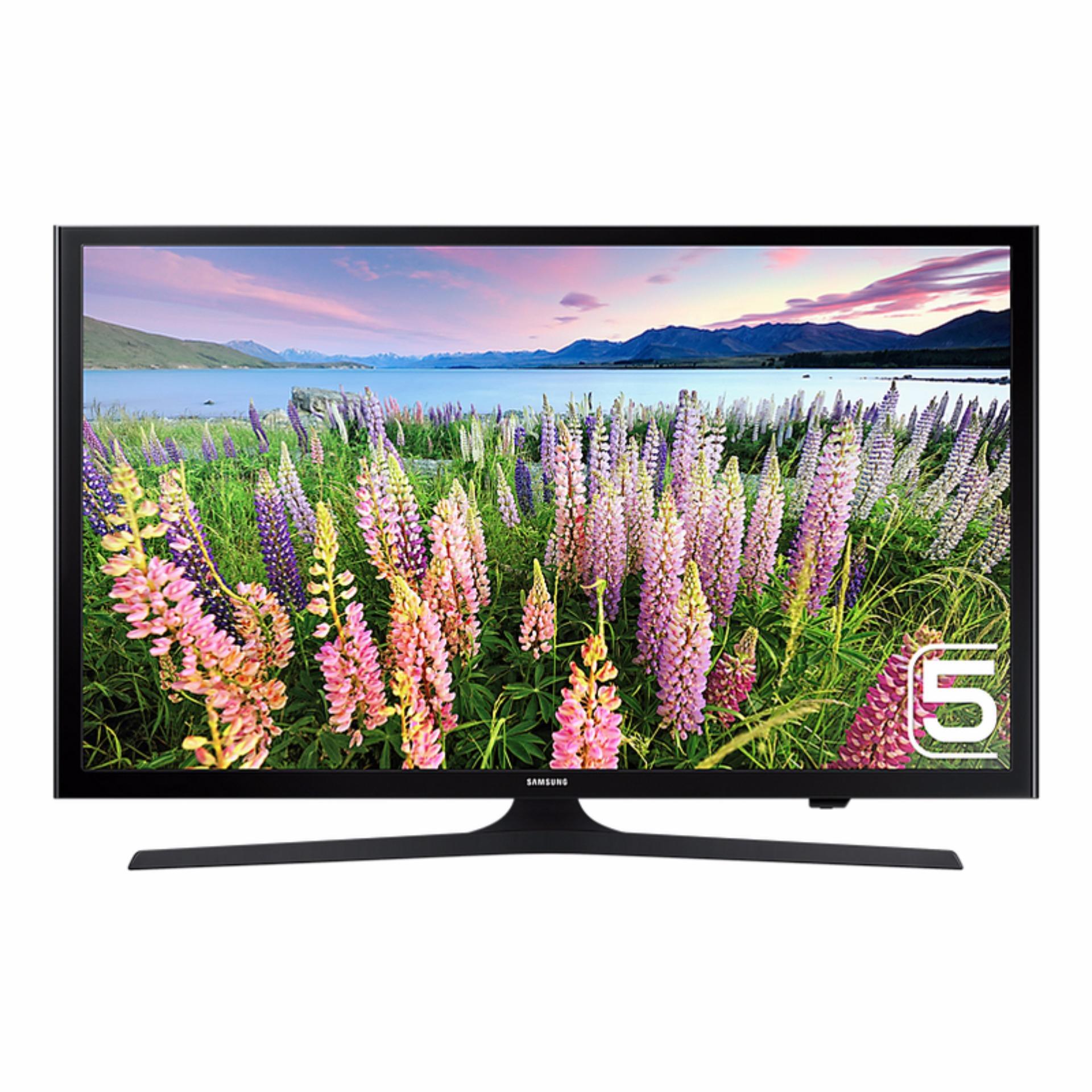 Samsung 49 Inch Full HD Flat Smart LED Digital TV 49J5200 - Khusus Area Jabodetabek