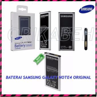 Samsung Baterai / Battery Galaxy Note 4 / N910 Original - Kapasitas 3220mAh ( orikabeh )