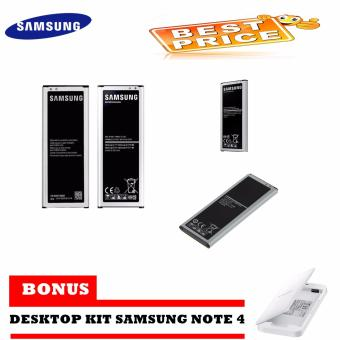 Samsung Battery Galaxy Note 4 SM-N910H 3220MAH Original + FREE Desktop Kit