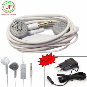 Samsung Headset/Handsfree Young Edition Headphone In-Ear + Charger Samsung Ori