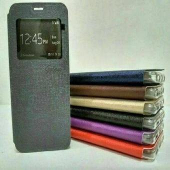 Samsung J7 Plus + Flipcase Flip Leather Case Cover Flipcover UME J7