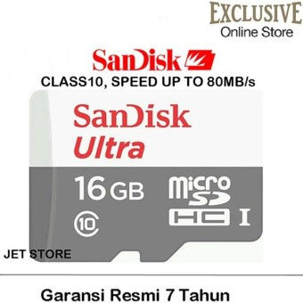 Sandisk Ultra Micro SDHC UHS I Class 10