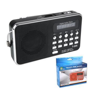 SD/TF Micro SD Slot USB Line Di Speaker Multimedia Digital Musik FM Radio-