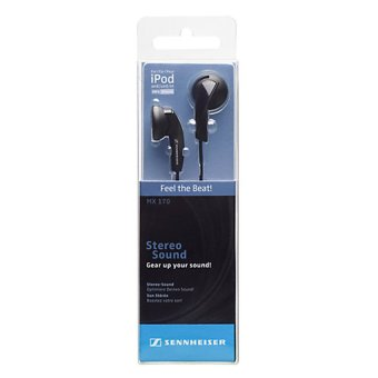 Sennheiser MX 170 Earphone - Hitam