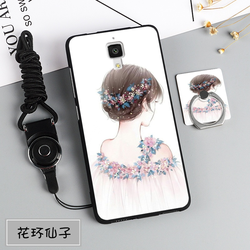 Shock Price Silica Gel Soft Phone Case for Xiaomi Mi 4 with a .