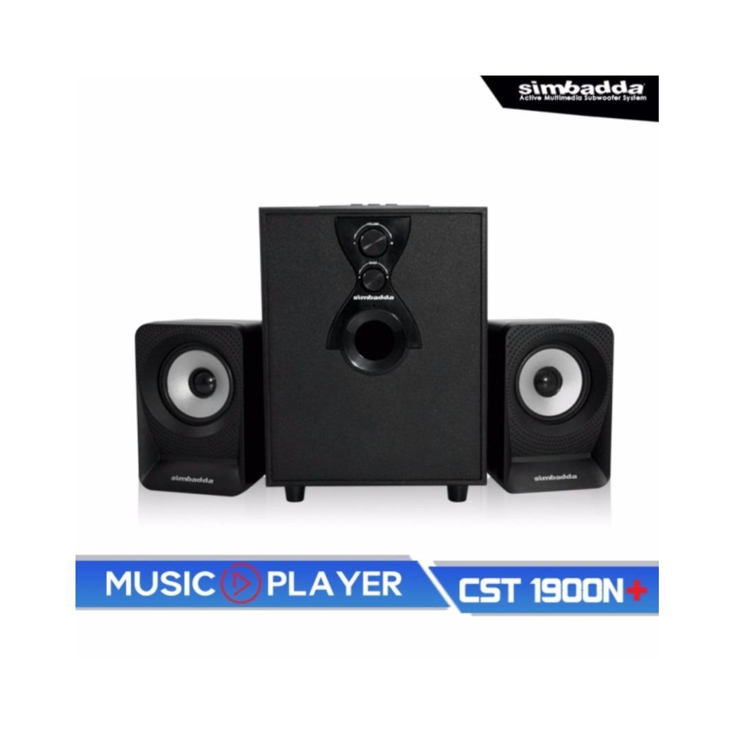 Simbadda Speaker Music Player CST 1900 N+ Bluetooth