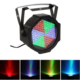 Smuxi 127 LED RGB DMX Stage Light Par Lamp 7-channel for KTV DJ Disco Decor Stage Lighting Effect AC240V US - intl