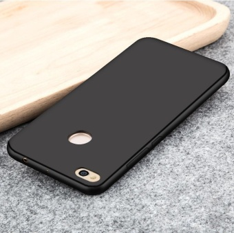Soft Silicone Phone Case Sweatproof Fingerprint-proof Protective Back Cover for Xiaomi Redmi 4X -