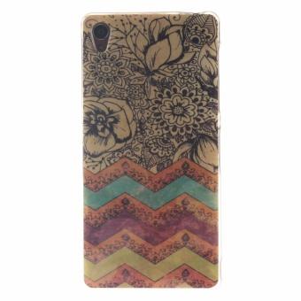 Soft TPU Back Cover Case untuk Sony Xperia Z3 (Multicolor)-Intl