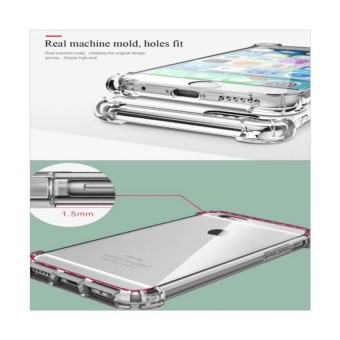 Hot Deals Softcase Anticrack Slim for Samsung Galaxy J1 2016 / J120 - White Clear terbaik