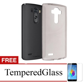 Softcase for LG G4 - Abu-abu + Gratis Tempered Glass - Ultra Thin