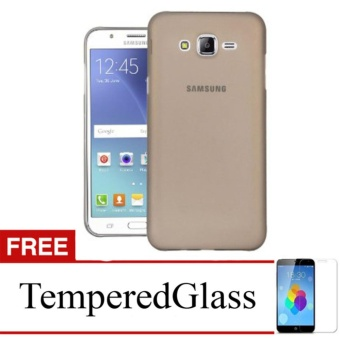 Softcase for Samsung Galaxy Core 2 / G355 - Abu-abu + Gratis Tempered Glass
