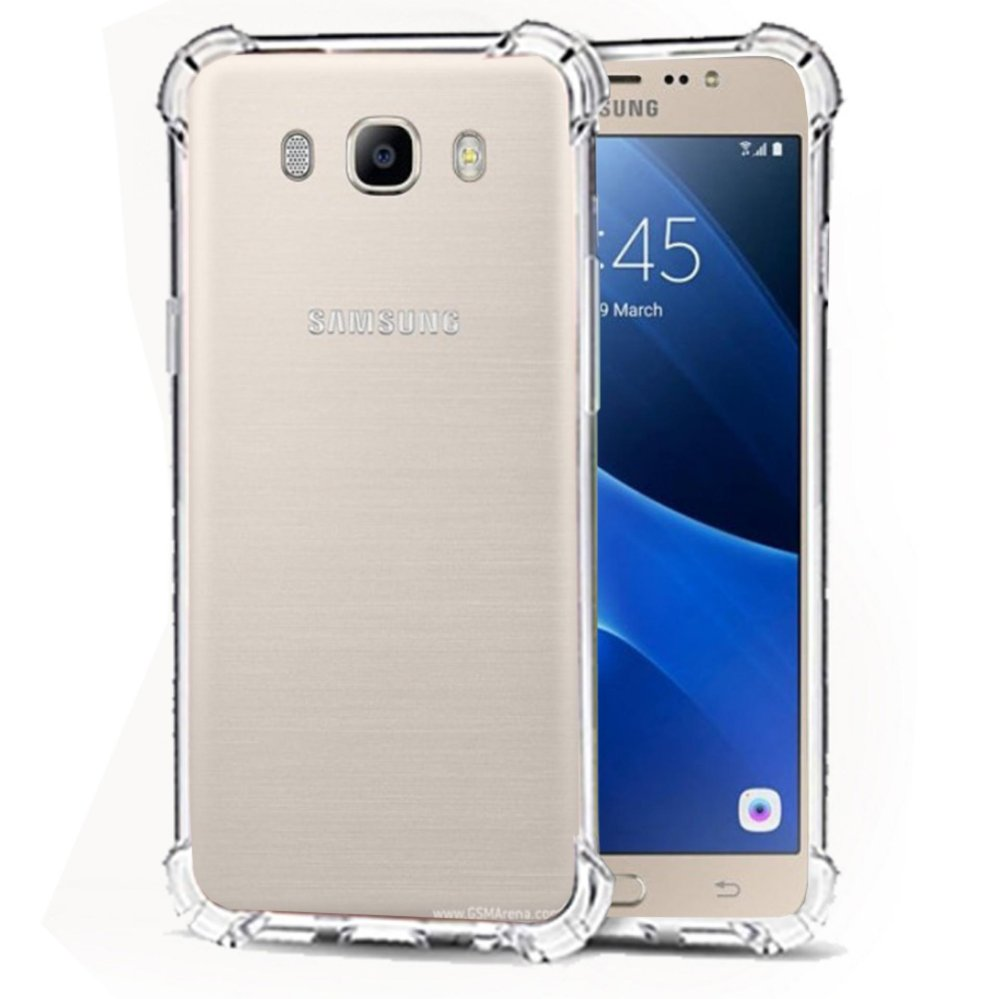 Softcase Silicon Anti Shock / Anti Crack Elegant Softcase  for Samsung Galaxy J5 2016 (J510) - White Clear